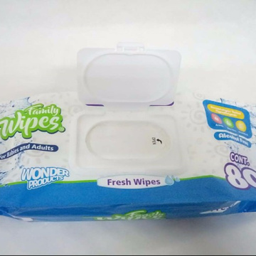 Nonwoven Soft Baby Fresh Wet Wipes