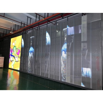 Light weight easy installation led display for event