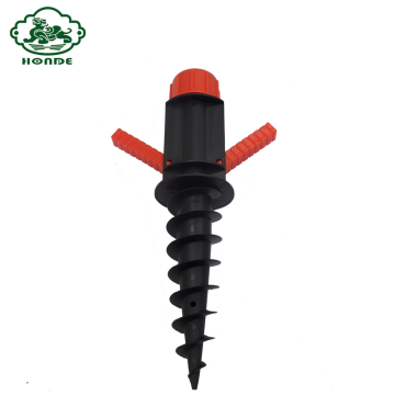 Plastic Ground Anchor Screw Line Pole