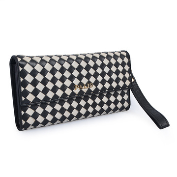 New Wallet Leather Female Long Purse Money Bag