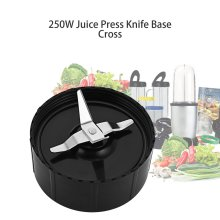 Two Patterns 250W Durable Stainless Steel Superior Performance Blender Juicer Mixer Blade Base Seat Replacement Parts Household