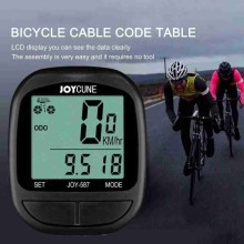 Bicycle Computer Code Table Mtb Road Bike Wired Waterproof Odometer Stopwatch Digital LCD Cycling Accessories Bicycle Computer