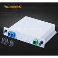 1X2 Fiber Optic Insertion Type Plc Splitter With SC/APC Connector