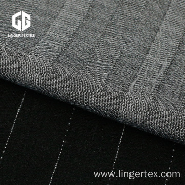 Striped Yarn Dyed Jacquard Fabric For Tailored Suit