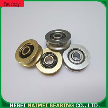 Windows blinds pulley U groove track bearings