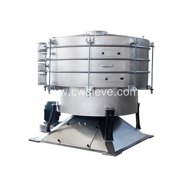 High efficiency raw material screening machine