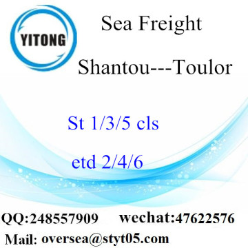 Shantou Port LCL Consolidation To Toulor