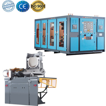 electric induction furnace for nodular iron casting