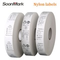 25*200 polyester satin garment wash care labels roll