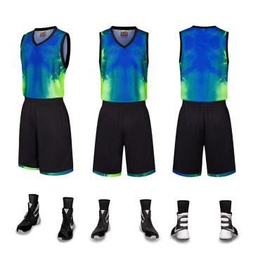 Unique basketball uniform for men