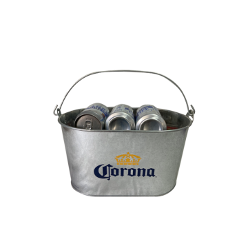 iron bucket wholesale beer bucket with bottle opener