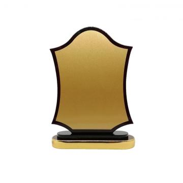 high quality wooden award plaque