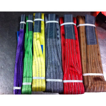 High quality Webbing Sling With  Flat Eyes