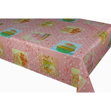 Pvc Printed fitted table covers 2019