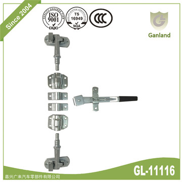 Truck Trailer Door Lock System Door Rod Lock