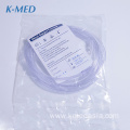 Medical disposable surgical nasal oxygen cannula sizes