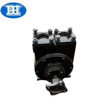 Rotary vane pump for fuel oil delivery