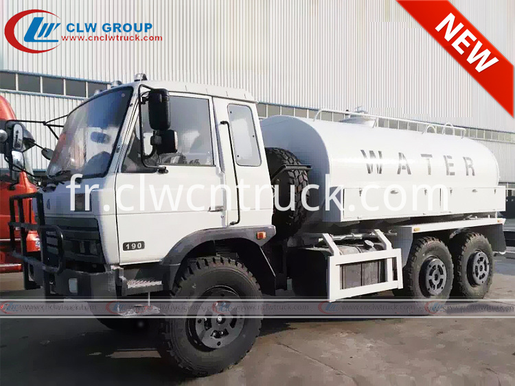 Dongfeng 6x6 Water Tank Truck 1