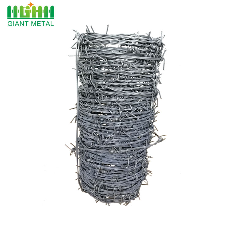 weight of barbed wire per meter price