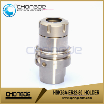 HSK63A-ER32-80 Ultra accuracy CNC Machine Tool Holder