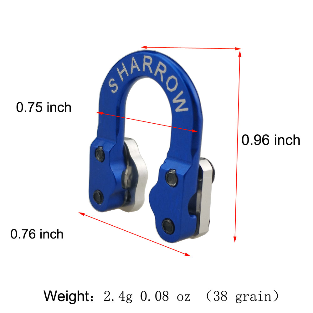 Ship From USA Warehouse Archery Aluminum D Loop Release Bowstring Safety Release Metal For Compound Bow Shooting Accessories