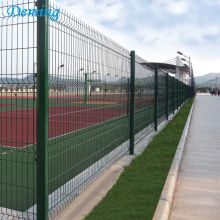 PVC Coated Low Price Welded Wire Mesh Fence