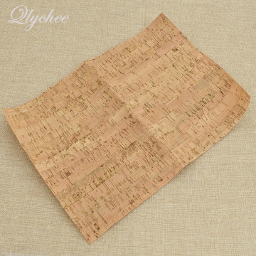 21x29cm Soft Cork Wood Grain Gravel Pattern PU Leather DIY Home Decoration Table Wall Cloth Accessories