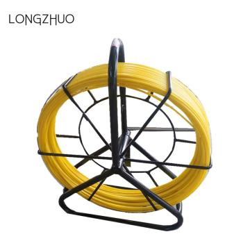 Yellow Cable Duct Resin Coated Fiberglass Duct Rodders