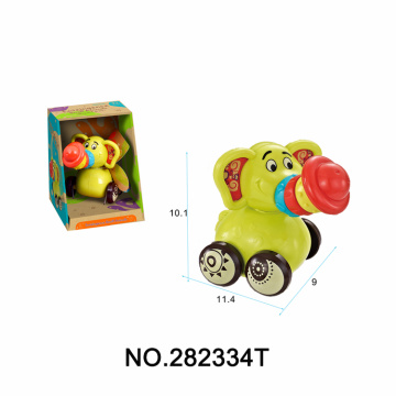 Cartoon Elephant Baby Rattle Educational Toys