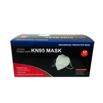Disposable Earloop Non-woven KN95 FFP2 Face Mask