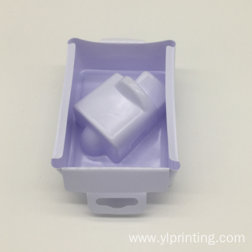 Clear Plastic PP blister packaging inner insert tray