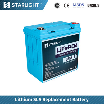 12V 38AH LiFePO4 Battery Replace Lead Acid Battery