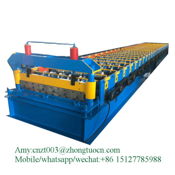portable standing seam metal roof  machine