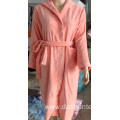 100% cotton velvet bathrobe for children 6y/18y