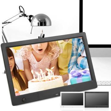 10inch Digital Photo Frame 1024*600 HD Human Body Induction Digital Photo Frame Screen Multiple Languages Screens Ratio 16:9