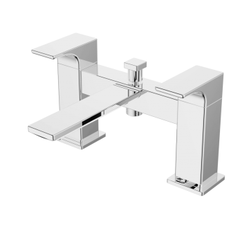 Bathroom Brass Bathtub Chrome Waterfall Faucet