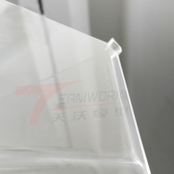 High precision plastic material pmma acrylic rapid prototype
