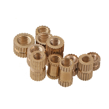 Custom Brass Knurled Insert Rivet Nuts factory