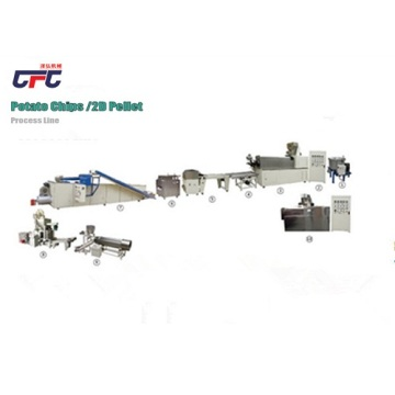 tapioca chips processing production line