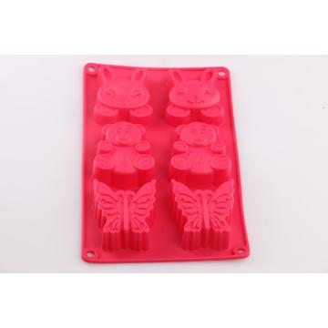 Rabbit Bear  Butterfly shape baking mold