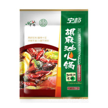 Flax oil spicy hot pot bottom material