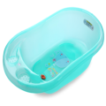 Plastic Transparent Infant Bathtub Medium Size