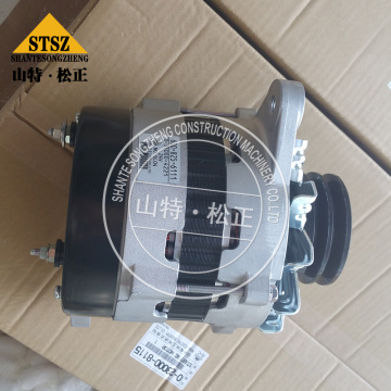 PC650-8 Alternator 600-825-6111 komatsu excavator spare parts