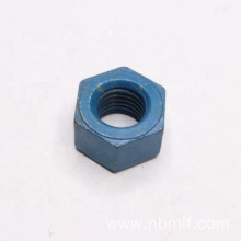 Blue ASTM A563 Grade DH Heavy Hex Nut