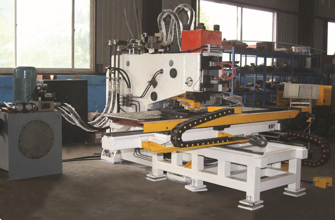 Hydraulic Steel Plate Punching Marking Drilling Machine