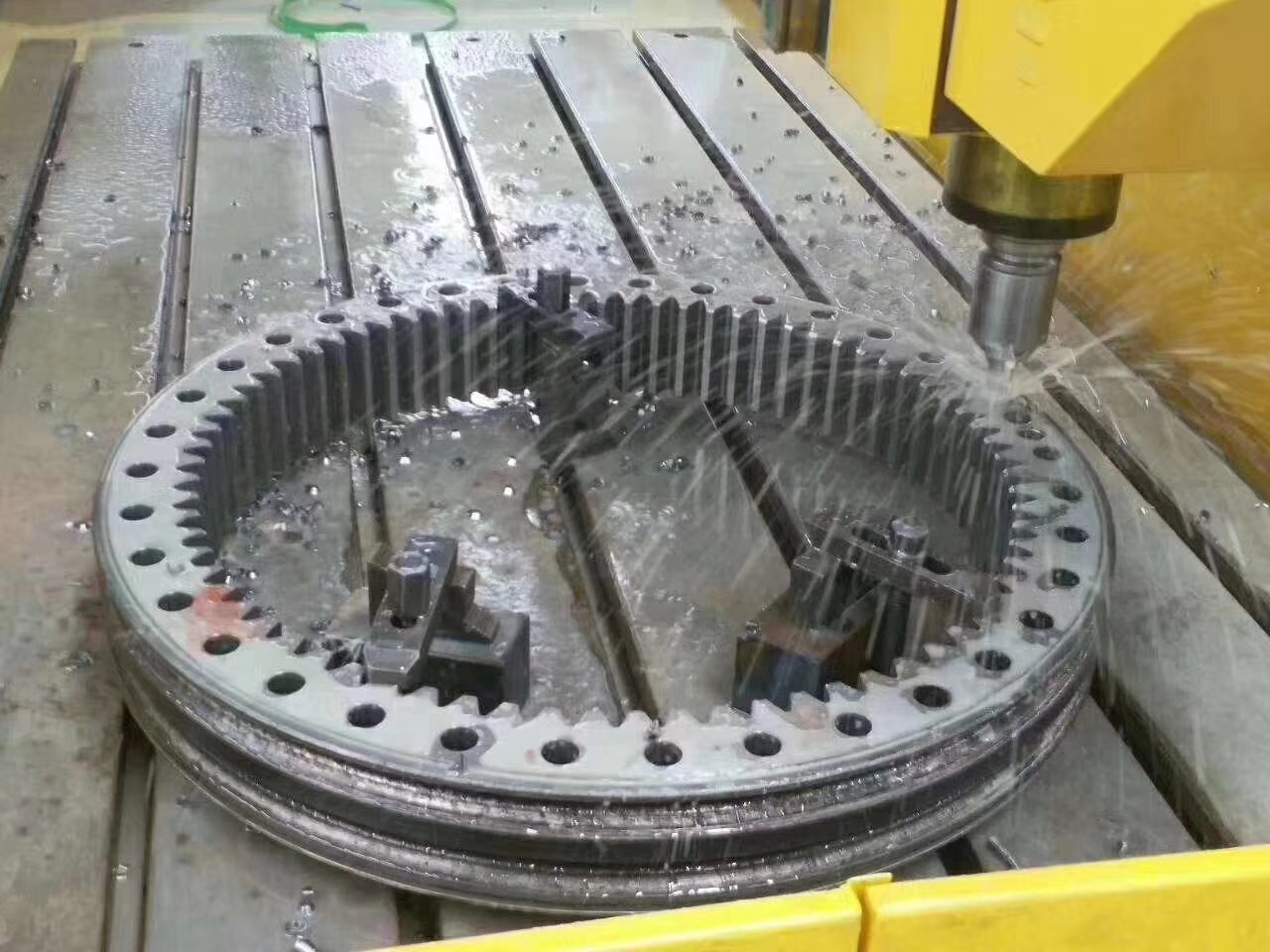 cnc milling machine for steel