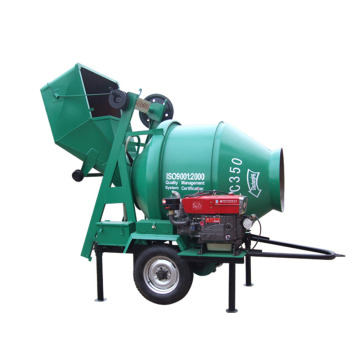 JZR 350 Industrial diesel automatic drum Mixer