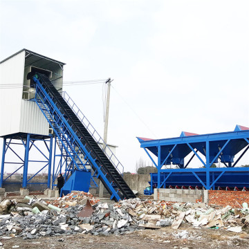 Different types electrical advanced concrete batching plants