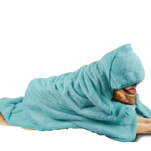 Microfiber Oversized Hooded Pet Bath Towel