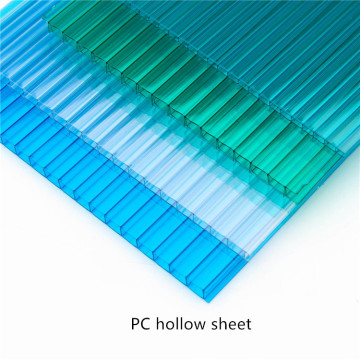 Polycarboante Hollow Sheet for Eco-restaurants